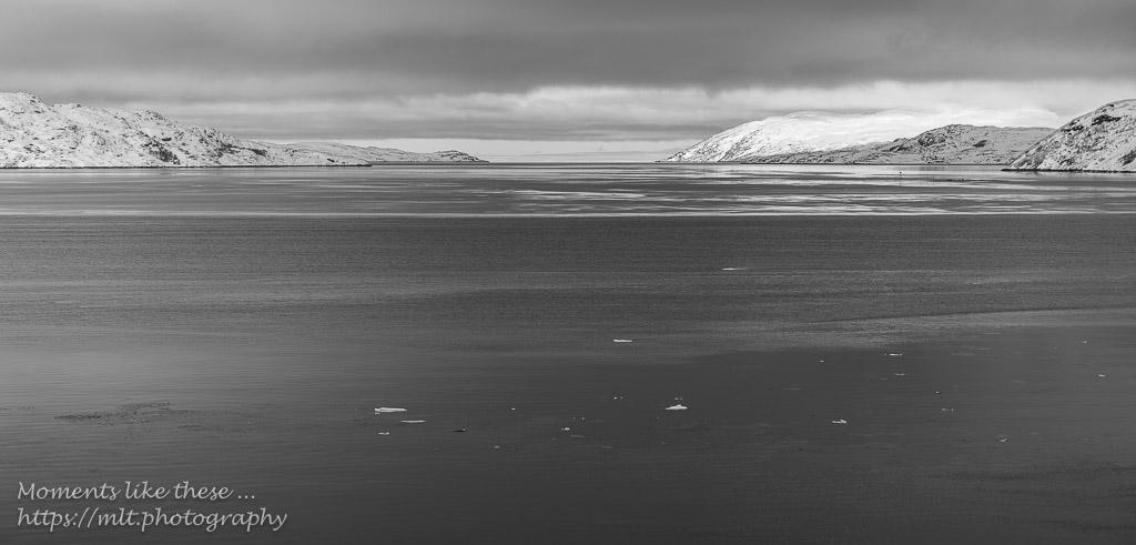 The sea's beginning to freeze - Kirkenes