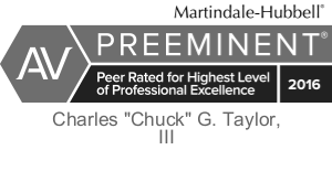 Chuck Taylor - Preeminent Martindale & Hubbell