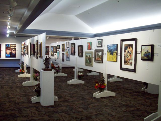 The 2012 Arts of Terrace show.