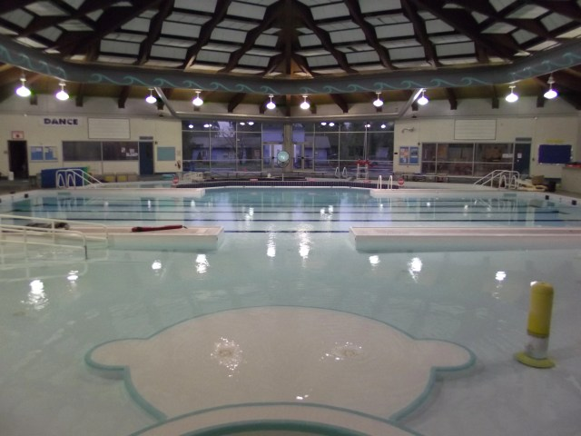 The pool at the Mountlake Terrace Recreation Pavilion