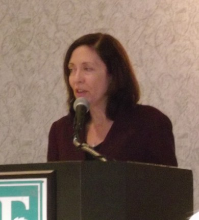 U.S. Senator Maria Cantwell said Pat McMahan was the salt of the earth, with a pinch of pepper.