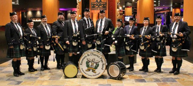 The Kenmore and District Pipe Band