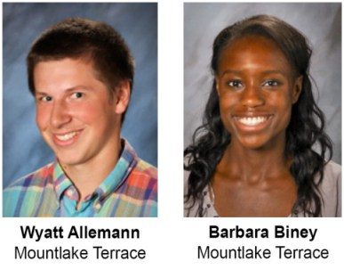 MTHS students of month