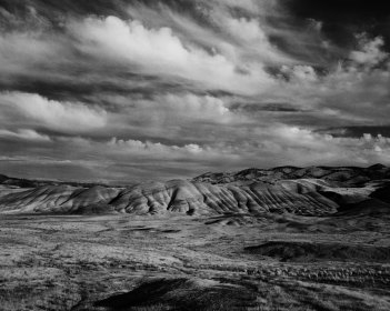The Painted Hills at Dusk, by Michael Wewer