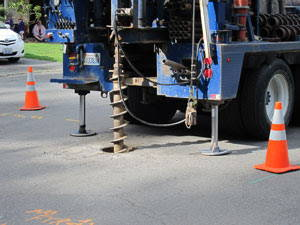 Sound Transit has begun geotechnical drilling in MLT.