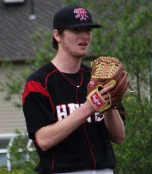 Dominic DeMiero, pitched a complete game, three-hit shutout Friday.