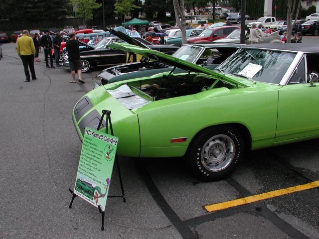 Jeff Hufman's 1970 Road Runner was voted Best Muscle Car and Best in Show.