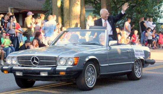 Former State Senator Paull Shin was the grand marshal of the Tour de Terrace parade.