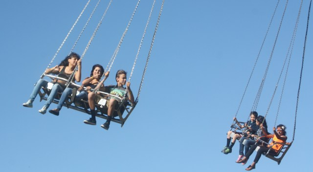 These kids seemed to like the ride, though.