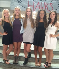 Mountlake Terrace girls soccer seniors