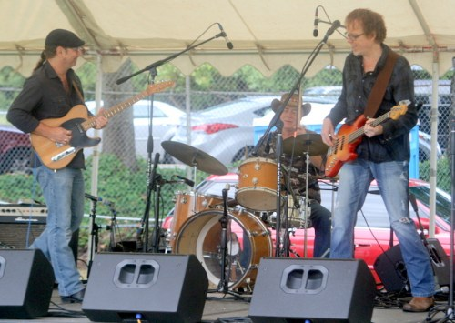 Rod Cook and Toast perform Sunday afternoon at Tour de Terrace.