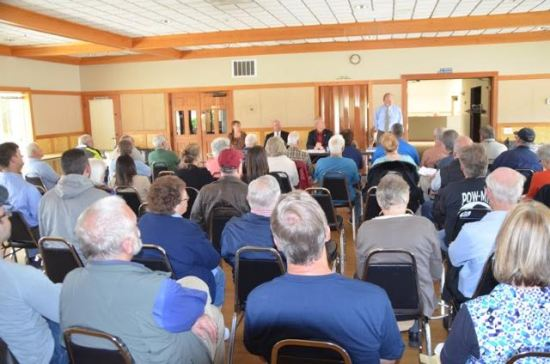 It was a full house at the Mountlake Terrace Senior Center to hear panelists talk about veterans issues Saturday.