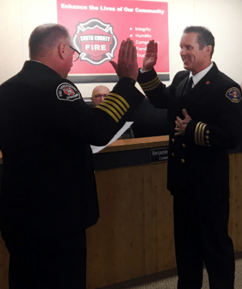 New Deputy Chief of Operations sworn in during South County