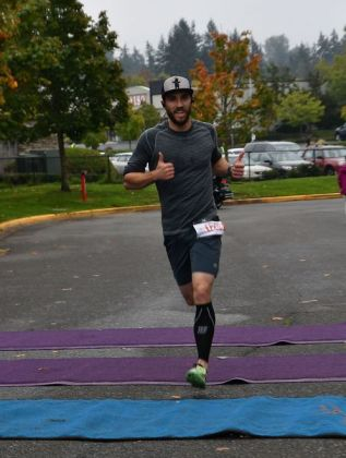 Dustin Fuchs of Mukilteo was first across the line, completing the course in just over 20 minutes.