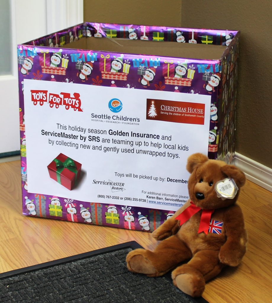 Reminder Toys For Tots Drive At Golden Insurance Through Dec 7