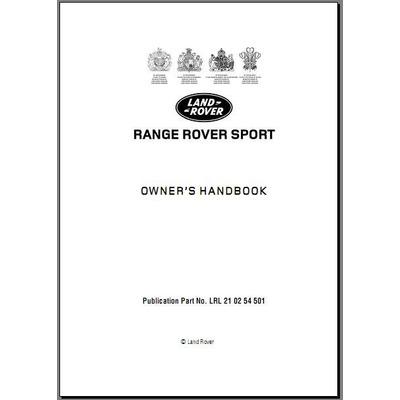 Libro Digital Usuario Land Rover Range Rover Sport 2005