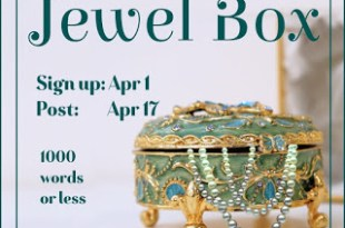 """O is for """"Opal and Onyx""""-my   #WEPFF entry for 'Jewel Box'  #AtoZChallenge"""
