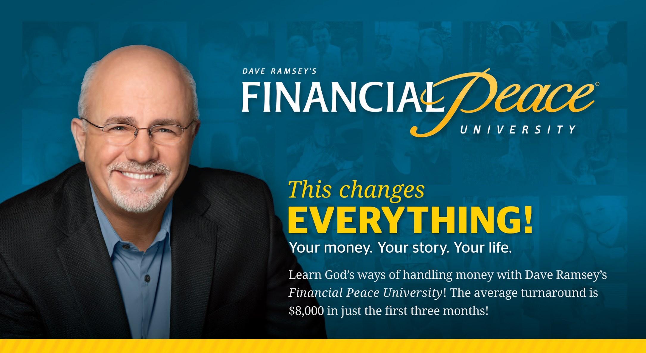 Financial Peace University  Messiah Lutheran Church