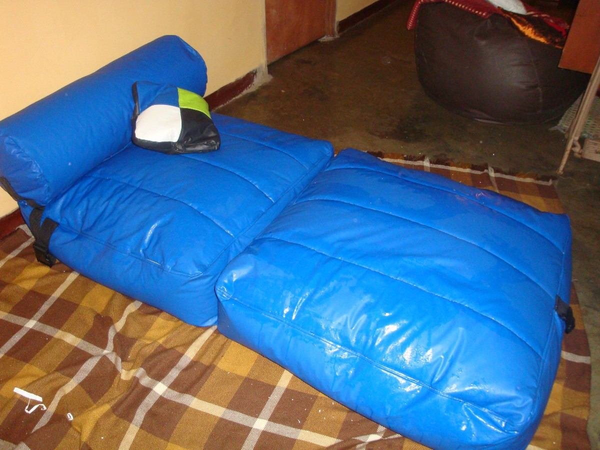 sofa cama mercado libre venezuela red leather chesterfield tipo puff indvidual o matrimonial bs 29 900