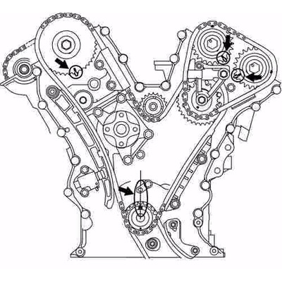 Kit De Tiempo (cadenas) Grand Vitara Xl7 6cilindros Suzuki