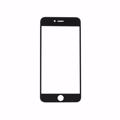 Mica De Vidrio Lens Apple Iphone 6 Plus Blanca Y Negra 5.5