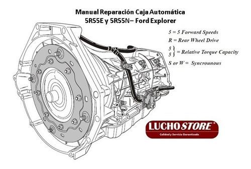 Caja 5r55 Ford Explorer Automatica Manual Reparacion