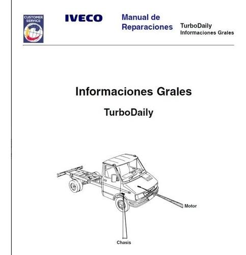 Iveco Daily 6012 / 4912 Manual De Servicio Y Electrico