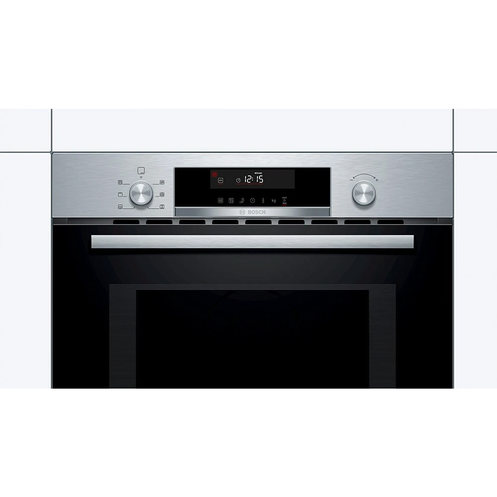 bosch cma585gs0b serie 6 built in compact combi microwave for tall housing stainless steel