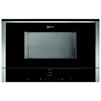 neff c17wr01n0b n70 built in microwave for wall unit stainless steel