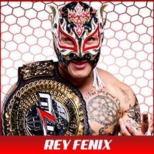 Rey Fenix w belt