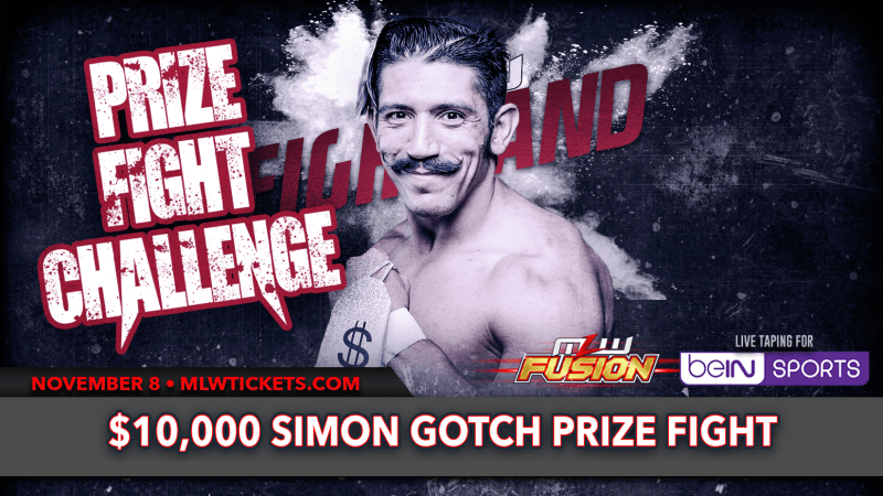 Simon Gotch Prize Fight