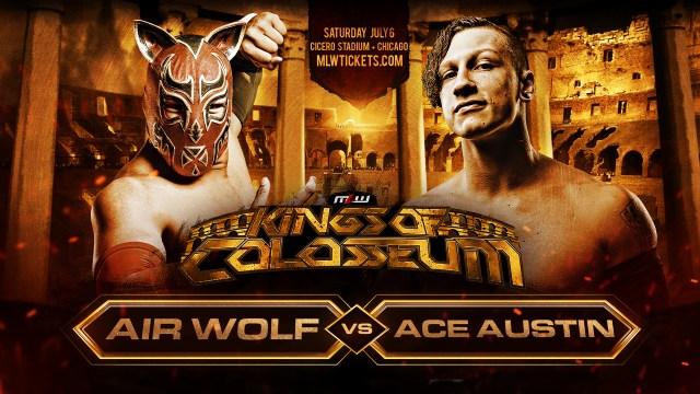 Air Wolf vs. Ace Austin