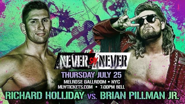 Brian Pillman Jr. vs. Richard Holliday