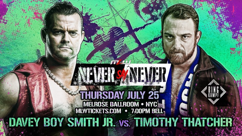 Davey Boy Smith Jr. vs. Timothy Thatcher