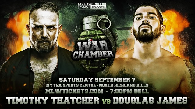 Timothy Thatcher vs. Douglas James