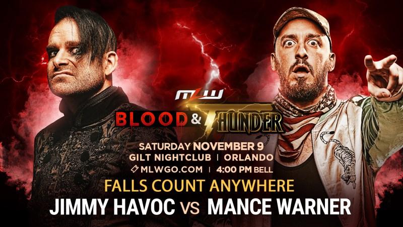 Mance Warner vs. Jimmy Havoc