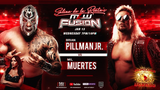 🚨Pillman signs contract to fight Mil Muertes tonight