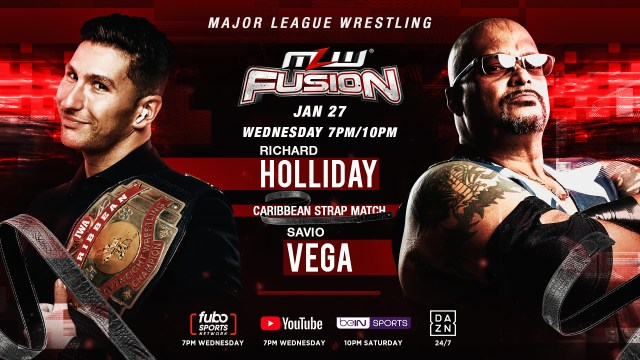 Caribbean Strap match headlines Wednesday's FUSION