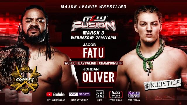 Fatu vs. Oliver for World Title set for Wednesday