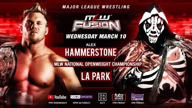Hammerstone defends title against LA Park on FUSION