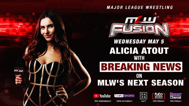 Alicia Atout with BREAKING NEWS tonight on FUSION
