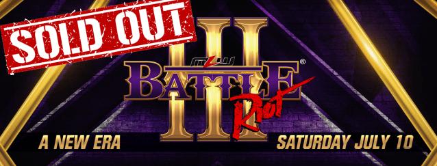 Battle Riot Event FAQ for fans in attendance
