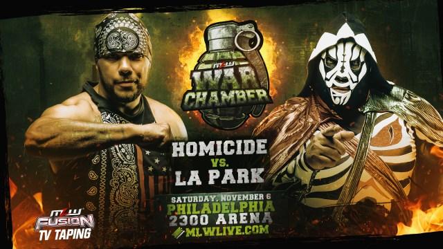 Homicide vs. LA Parksigned for Nov. 6 in Philly