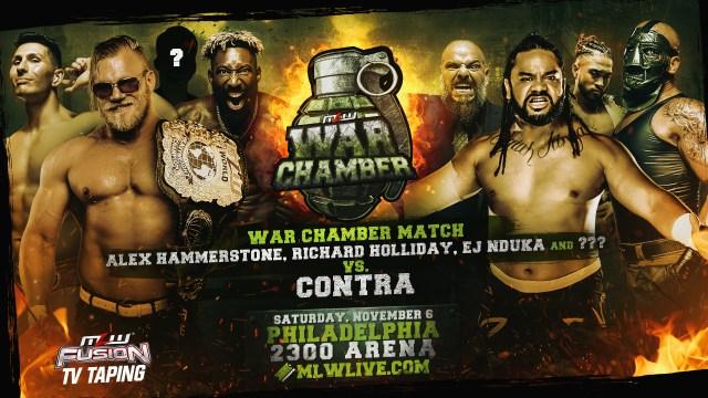 CONTRA vs. Team Hammer War Chamber set for Philly Nov 6