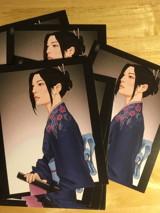 Merwild Misaki Print