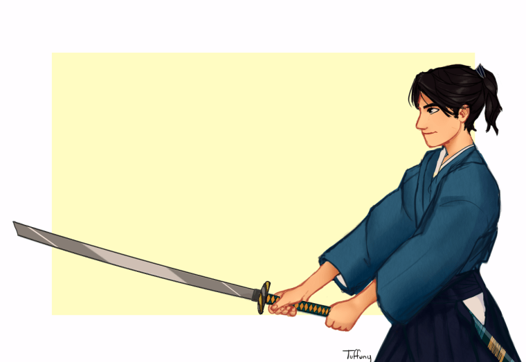 Mamoru (The Sword of Kaigen) by Tuffuny