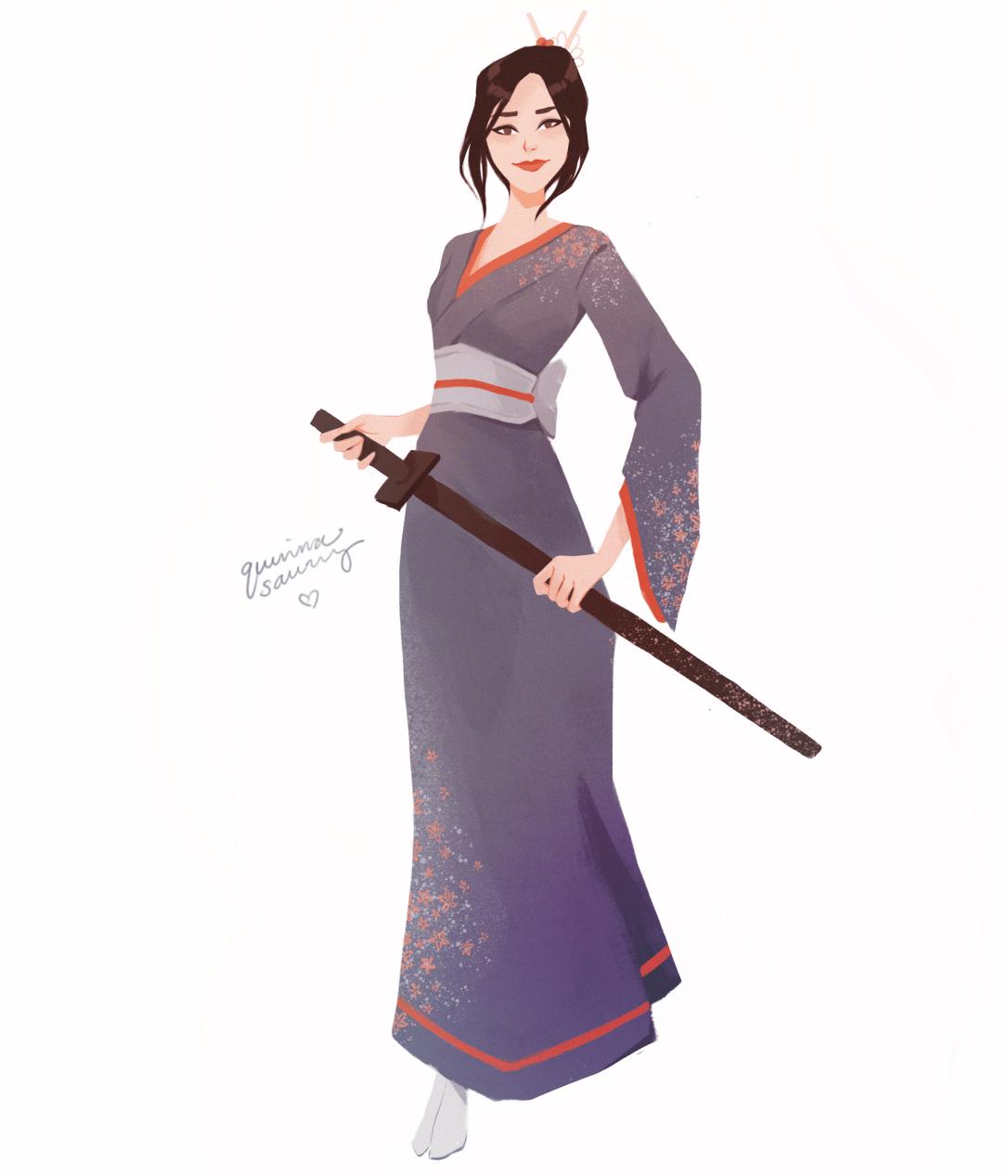 Misaki (The Sword of Kaigen) by Chloe Quinn