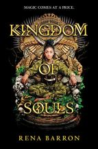Kingdom of Souls by Rena Barron Cover for African SFF list (YA fantasy book)