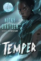 Temper by Nicky Drayden cover for African SFF list (Sci-fi/fantasy book)