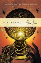 Everfair by Nisi Shawl Cover for African SFF List (afrofuturism, alternate history book)